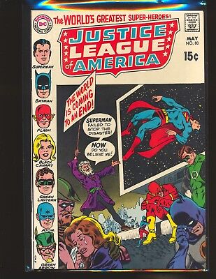 Justice League of America # 80 VF+ Cond.