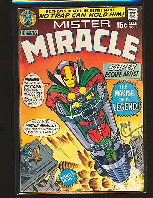 Mister Miracle # 1 - 1st appearance VG/Fine Cond.