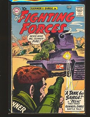 Our Fighting Forces # 57 VG/Fine Cond.
