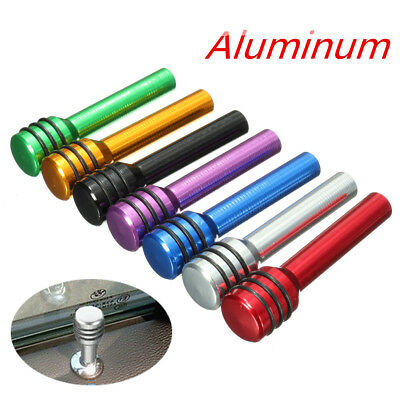 Universal Aluminum Alloy Interior Door Lock Knob Pins Cover Car Truck trailer