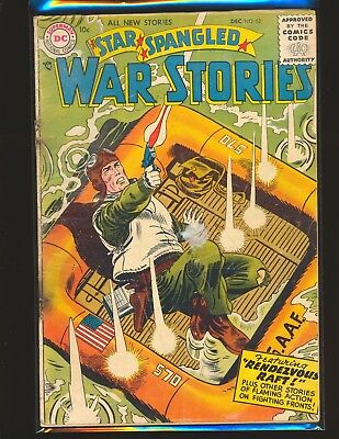 Star Spangled War Stories # 52 Fair Cond. cover detached water damage