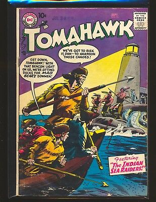 Tomahawk # 51 G/VG Cond. water damage