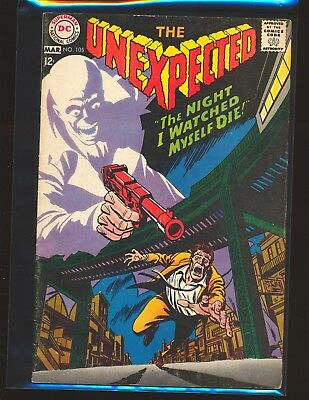 Unexpected # 105 - 1st retitled issue VG/Fine Cond.