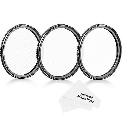 Neewer 58mm Rotated Star Filter Set for Canon Nikon Sony and Other DSLR Cameras