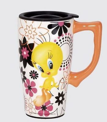 Tweety Bird Travel Mug Ceramic