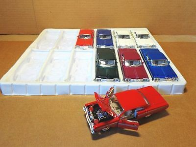 1:38 Scale 1964 Chevy Impala 2 Door Hard Top Color Red Sunnyside Ltd
