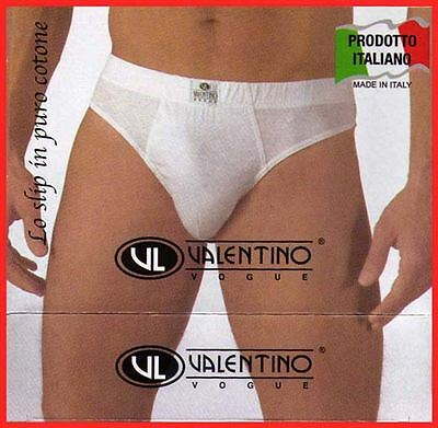 Mens Briefs Valentino Vogue Marcluis Cotton 12 Pairs Offer 3 4 5 6 7 8 9 10