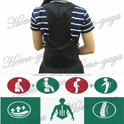 Back Posture Corrector for Student Men & Women Adjustable Brace Support Therapy