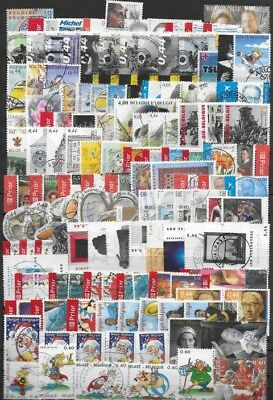 Belgium - Year set - 2005 - 122 stamps - Used -