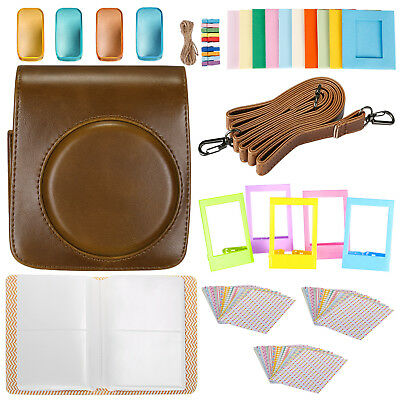 Neewer 25-in-1 Kit di Accessori per Fujifilm Instax Mini 70 & Custodia Marrone