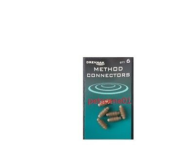 Drennan Method Connectors qty 6
