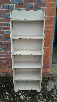 Shabby Chic antique  Pine Bookcase storage