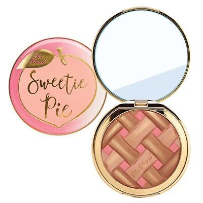 Too Faced Sweetie Pie Radiant Matte Bronzer 0.47oz Peaches and Cream Collection