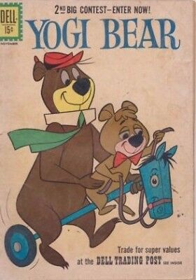 Yogi Bear #5 1961 Silver Age Dell Comics Us Import
