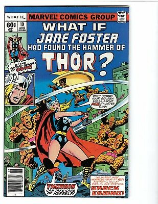 What If 10 1st Jane Foster Thor Fine+ Condition