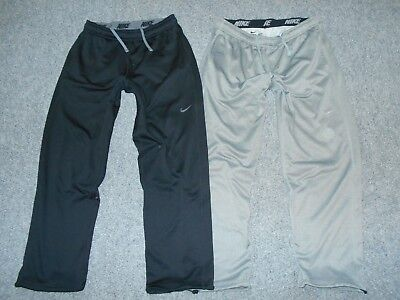 Nike Therma-Fit 2 Pairs! Mens Large Thermal Straight Leg Athletic Pants Lot   A1
