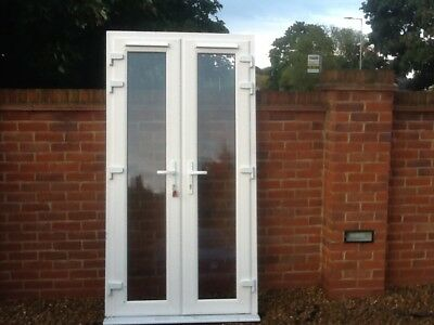 Used double glazed french doors in great condition 10 for External french doors and frame