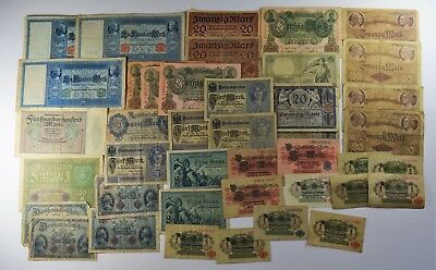 Lot Of 39 - Early 20Th Century Germany 1905-1919 - Vg/xf