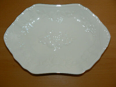 Lenox Fruits of Life Open Candy Dish - Bread Tray/Side Dish - with Tag