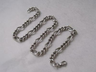 Solid Sterling Silver Chain/ L 42 cm/ 37 g