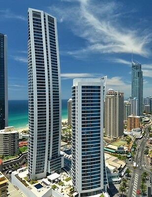 GOLD COAST HOLIDAY ACCOMMODATION H-Residences $1250 7 Nights 2 Bedroom Ocean