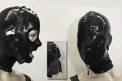 "★★★★ LATEXTIL ★★★★ Latexmaske ""FaceZippi"" Mask Masque Latex Rubber -NEU-"