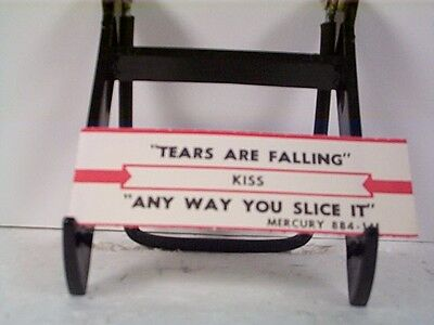 "Kiss ""tears Are Falling"" Jukebox Strip"