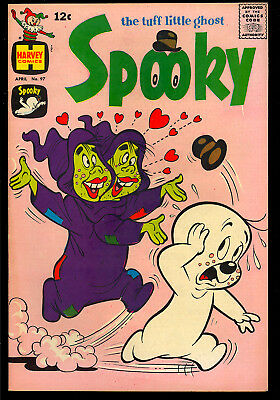 Spooky the Tuff Little Ghost #97 Nice Harvey Comic 1967 VG+