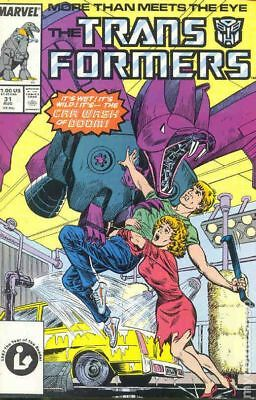 Transformers (1984 Marvel) 1st Printing #31 FN