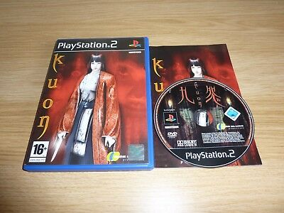 Kuon Playstation 2 Ps2 Game