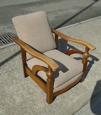 Art Deco Reclining Armchair     Delivery Available