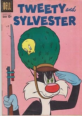 Tweety And Sylvester #28 1960 Silver Age Dell Comics Us Import