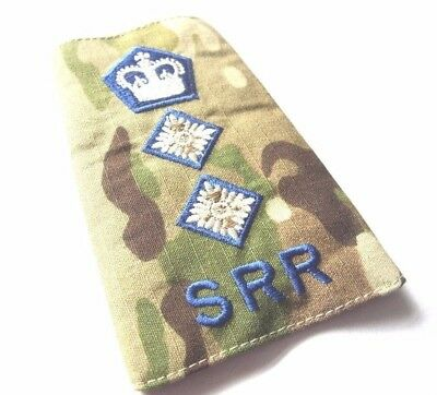 Srr Rank Slide Badge  Col Special Reconnaissance Regt  Sas Sbs Special Forces