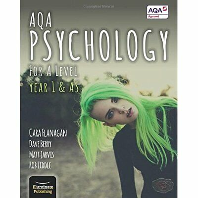 AQA Psychology for A Level Year 1 & AS - Student Book - Paperback NEW Flanagan,