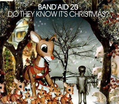 BAND AID 20  Do they know its Christmas?  3 TRACK CD  NEW - NOT SEALED