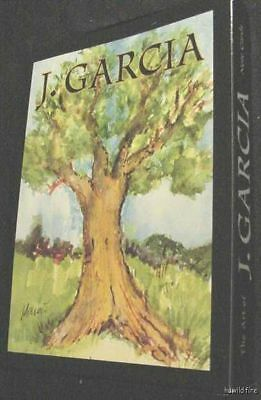 J. JERRY GARCIA GRATEFUL DEAD ART TREES CARDS tie xmas artwork note stationary