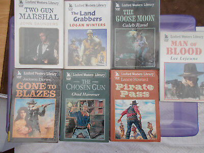 7,Linford Western Library Books / Large Print