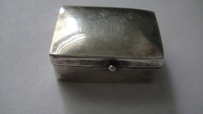 Vintage? Sterling Silver Pill Box