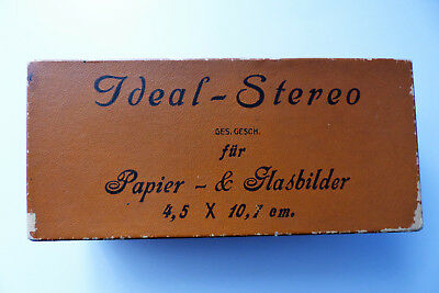 Ideal-Stereo Betrachter ICA + 30 Papierbilder