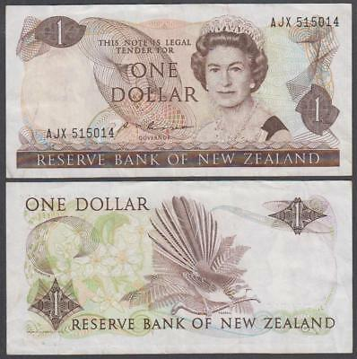 ND (1985-89) Reserve Bank of New Zealand 1 Dollar