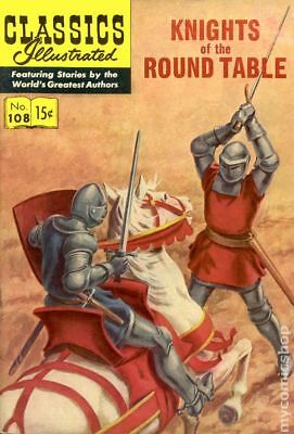 Classics Illustrated 108 Knights of the Round Table (1953) #1A VG 4.0 LOW GRADE