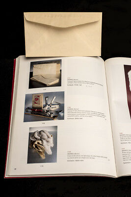 Marilyn Monroe Personal Embossed Envelope 2001 Christies Auction & Catalog NO~RE