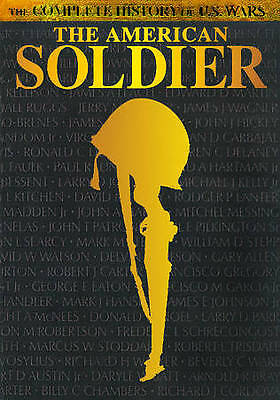 The American Soldier:  Complete History of U.S. Wars + (DVD) BRAND NEW!