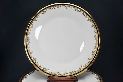 """Lenox Eclipse Set of Four 10 3/4"""" Wide Dinner Plate Plates - Amazing Condition!"""