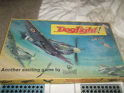 Vintage Battleships Dogfight By Vic Toys