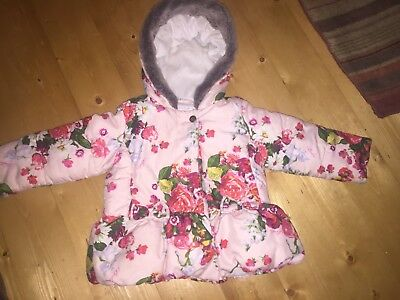 Ted Baker Girls Coat Age 18-24 Months