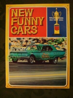 Vintage drag racing publication New Funny Cars Gold trophy series 1967