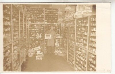 RPPC Large Collection Salt & Pepper Shakers Display 1940's Real Photo Postcard