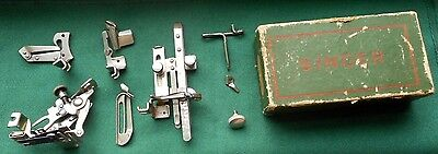 Singer Sewing Machine Attachments Kit # 120360 For Singer Model 99 or Others