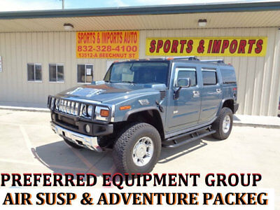2005 Hummer H2 Adventure  Air suspension Sunroof FLOOD FREE I GUARANTEE LUXURY ADVENTURE AIR SUSPENSION SUN ROOF 92 K